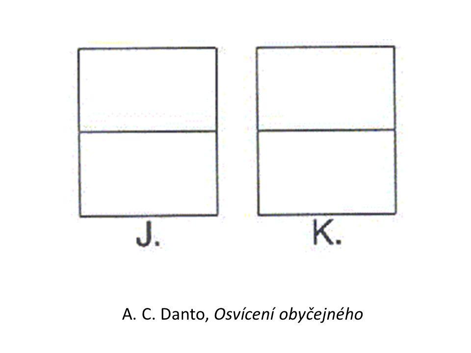 A. C. Danto, Osvícení obyčejného