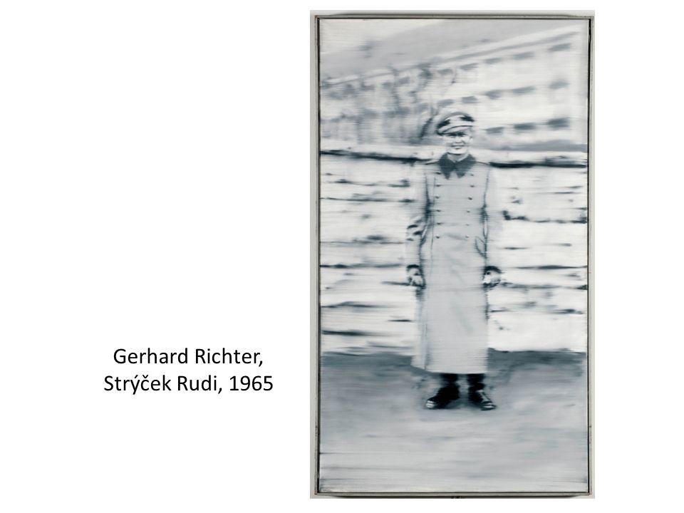 Gerhard Richter, Strýček Rudi, 1965