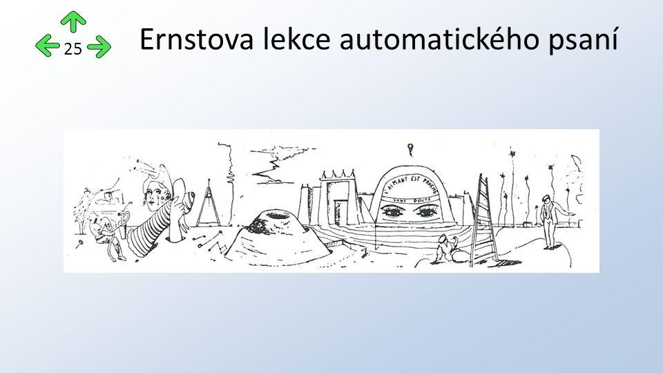 Ernstova lekce automatického psaní 25