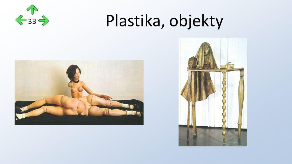 Plastika, objekty 33