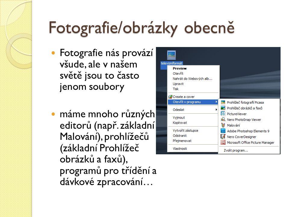 Elements Organizer – karta Opravit nabízí automatické jednoduché a rychlé úpravy fotografií většinou nevratné změny úpravy se nezaznamenávají do předlohy obrázku, ale do nového souboru který je ukládán do alba kde je fotografie umístěna – u obrázku se zobrazí tzv.