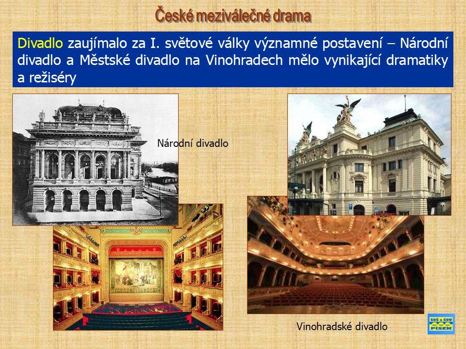 12.2. 1938 premiéra dramatu Matka (Stavovské divadlo Praha) 29.