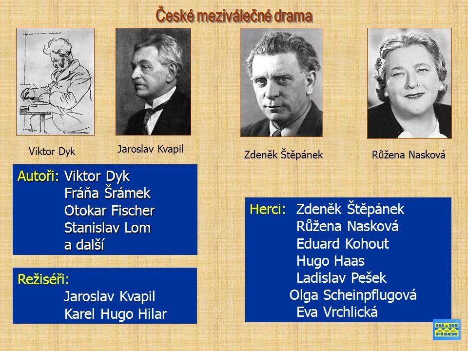 KAREL HUGO HILAR ( (5.listopad 1885, Sudoměřice u Bechyně – 6.