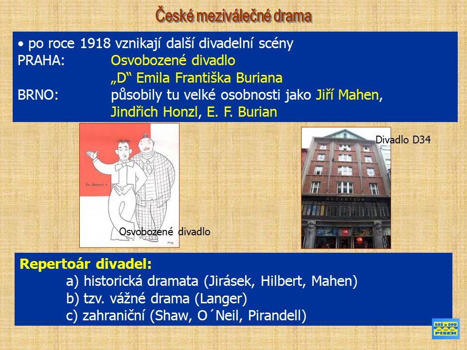 Arnošt Dvořák Arnošt Dvořák (1881 – 1935) historická dramata Kníže, Král Václav IV., Husité Stanislav Lom (1883 – 1967) Stanislav Lom (1883 – 1967) vl.