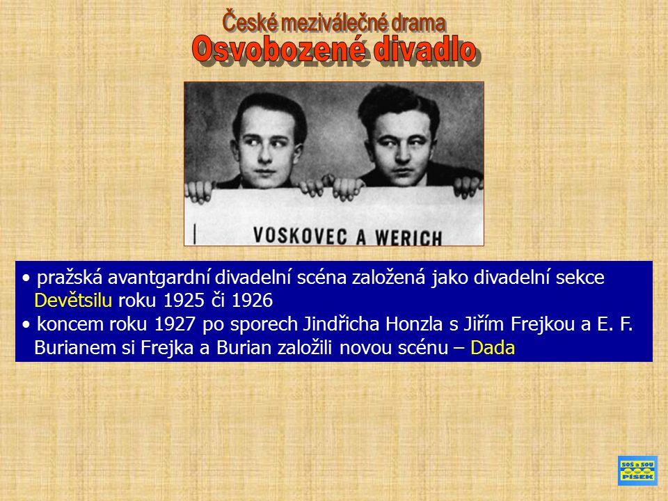 JIŘÍ VOSKOVEC (vl.jm. Wachsman) (19. 6. 1905, Sázava – 4.