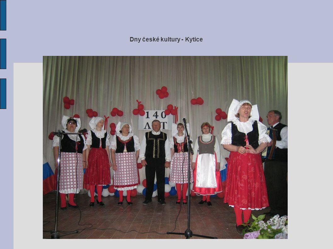 Dny české kultury - Kytice