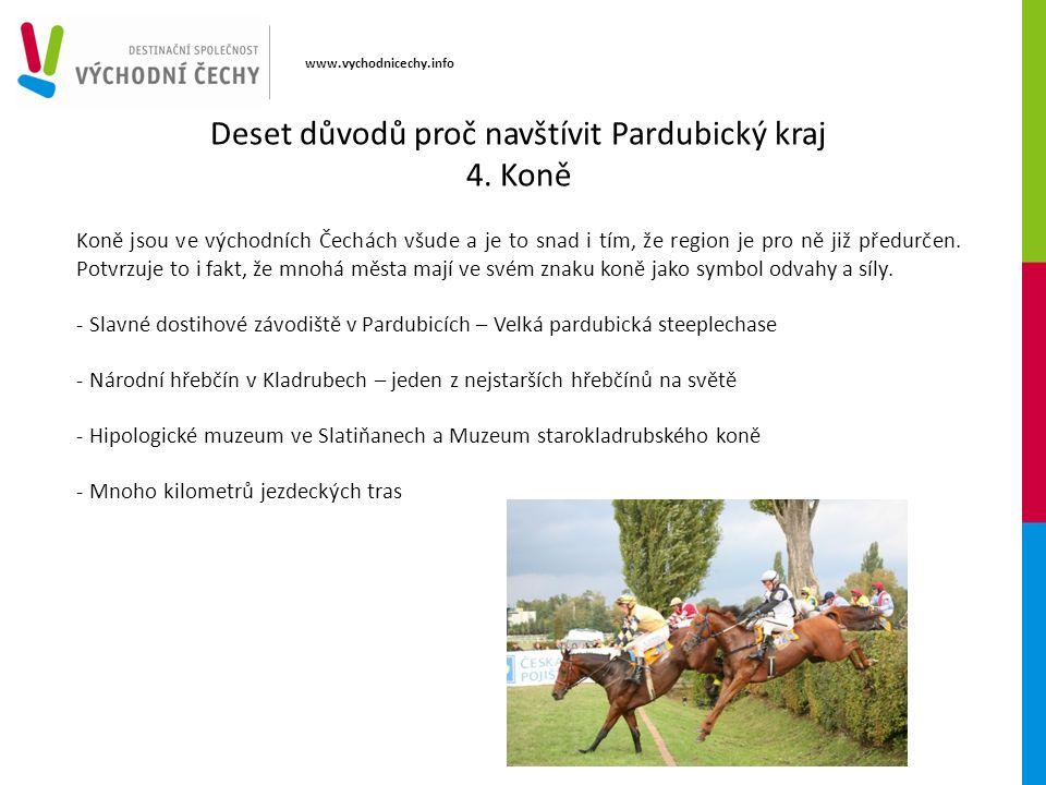 www.vychodnicechy.info Koně jsou ve východních Čechách všude a je to snad i tím, že region je pro ně již předurčen.