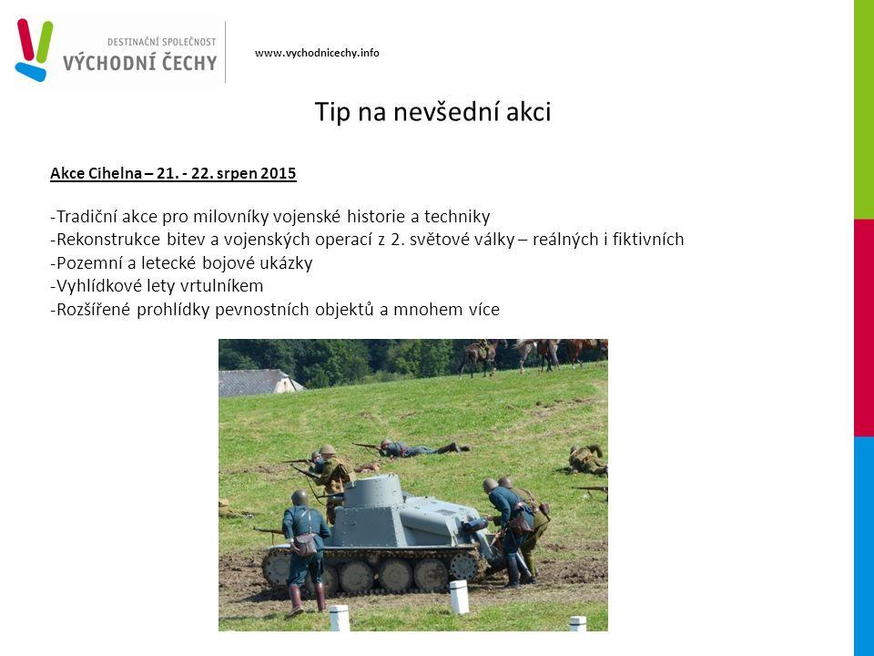 www.vychodnicechy.info Tip na nevšední akci Akce Cihelna – 21.