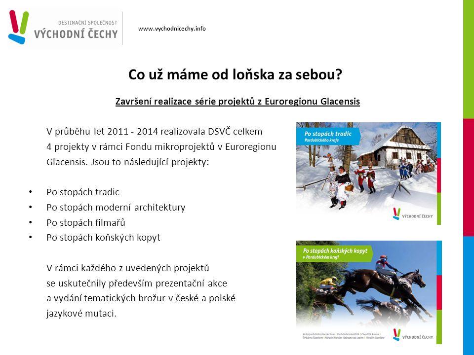 www.vychodnicechy.info Co už máme od loňska za sebou.