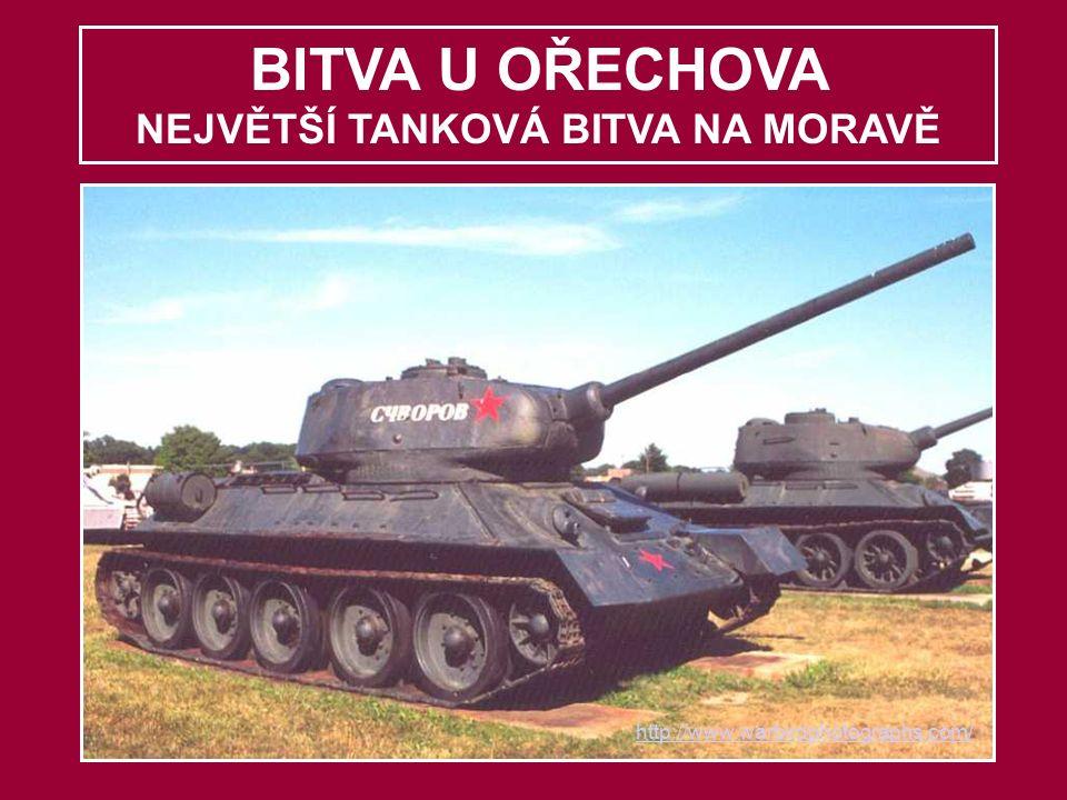 BITVA U OŘECHOVA NEJVĚTŠÍ TANKOVÁ BITVA NA MORAVĚ http://www.warbirdphotographs.com/