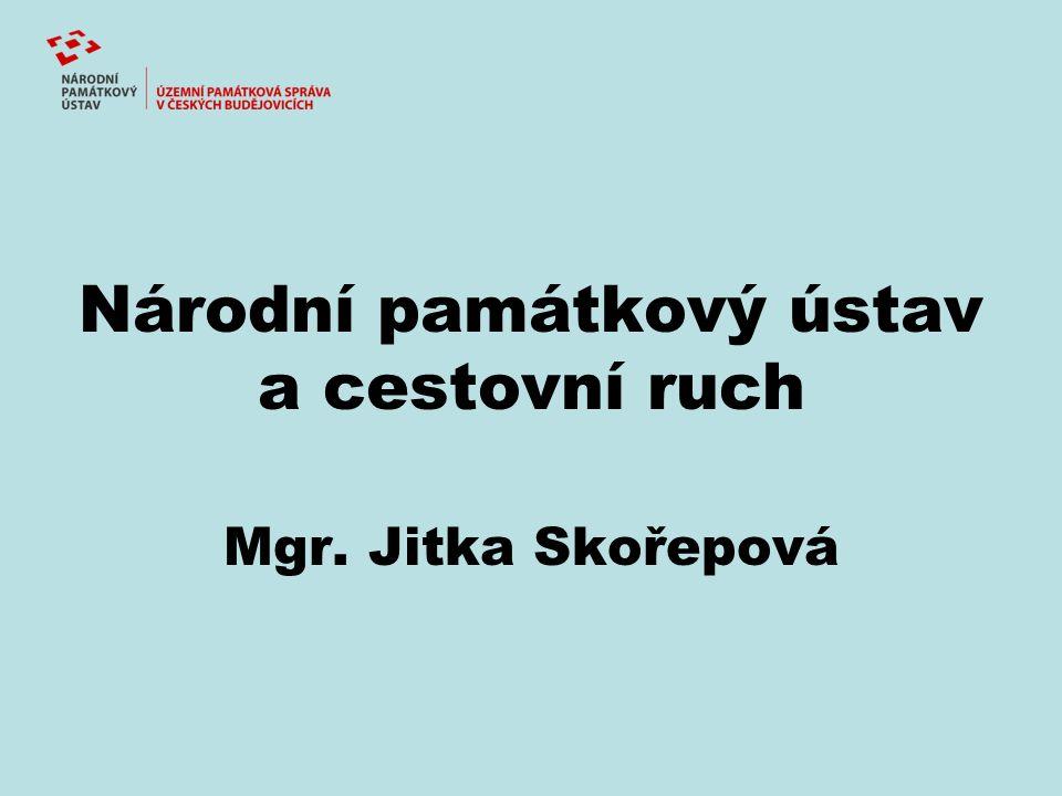 Národní památkový ústav a cestovní ruch Mgr. Jitka Skořepová