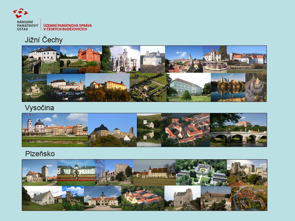 Jižní Čechy Vysočina Plzeňsko