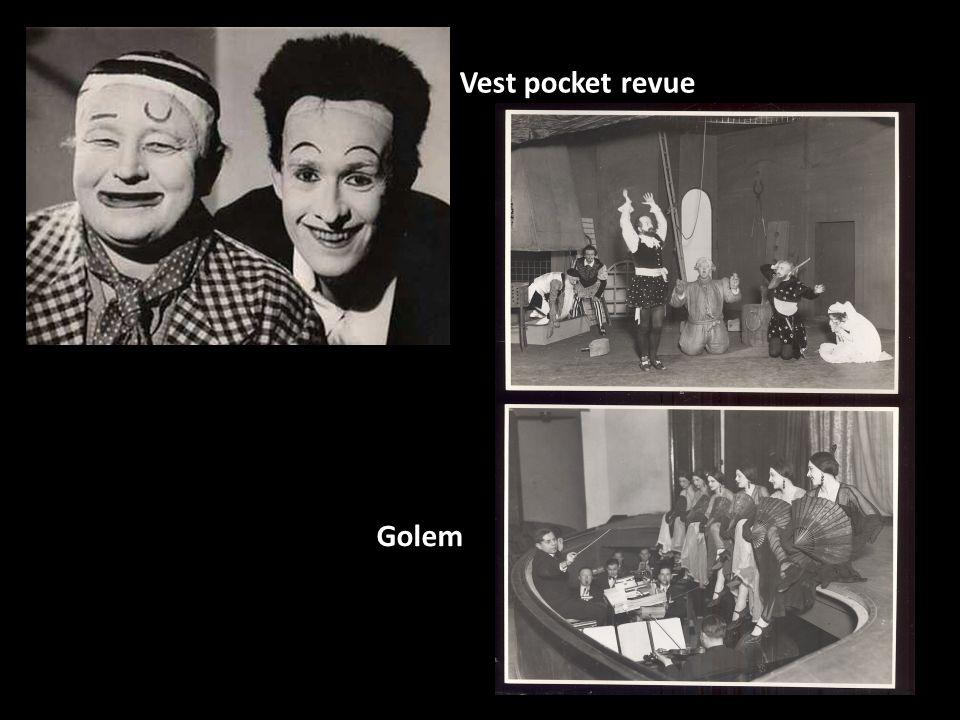 Vest pocket revue Golem