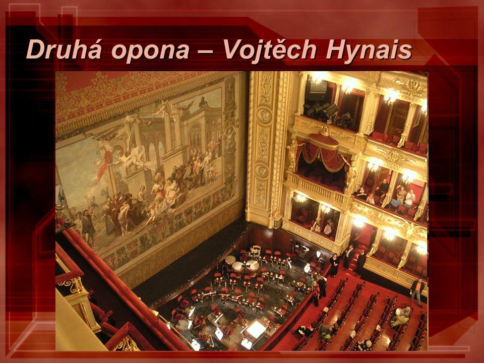 Národní divadlo - výzdoba virtuální prohlídka národ si přál, aby výzdobu vytvořili Češi výzdobě se podíleli např.: V.