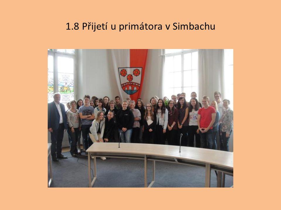 1.8 Přijetí u primátora v Simbachu