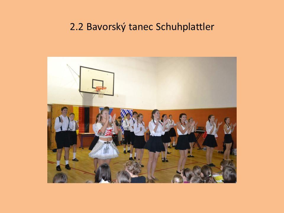 2.2 Bavorský tanec Schuhplattler