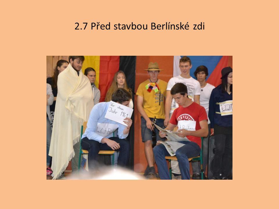 2.7 Před stavbou Berlínské zdi