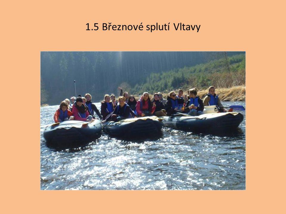 1.5 Březnové splutí Vltavy