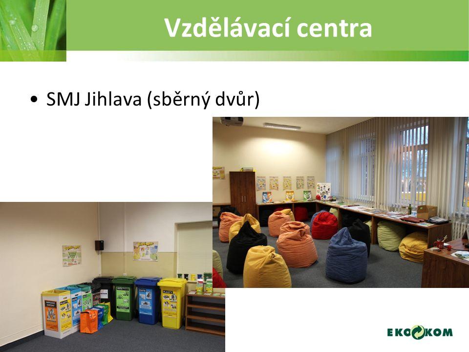 Vzdělávací centra SMJ Jihlava (sběrný dvůr)