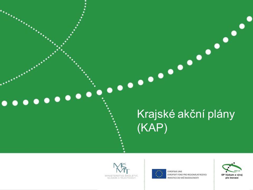 Krajské akční plány (KAP)