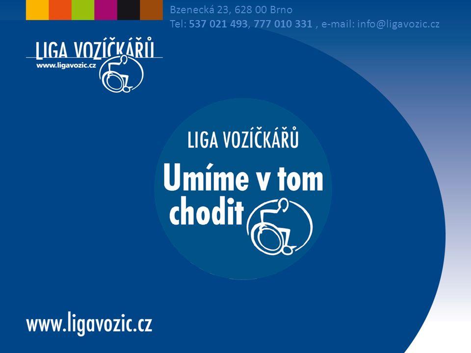 Bzenecká 23, 628 00 Brno Tel: 537 021 493, 777 010 331, e-mail: info@ligavozic.cz