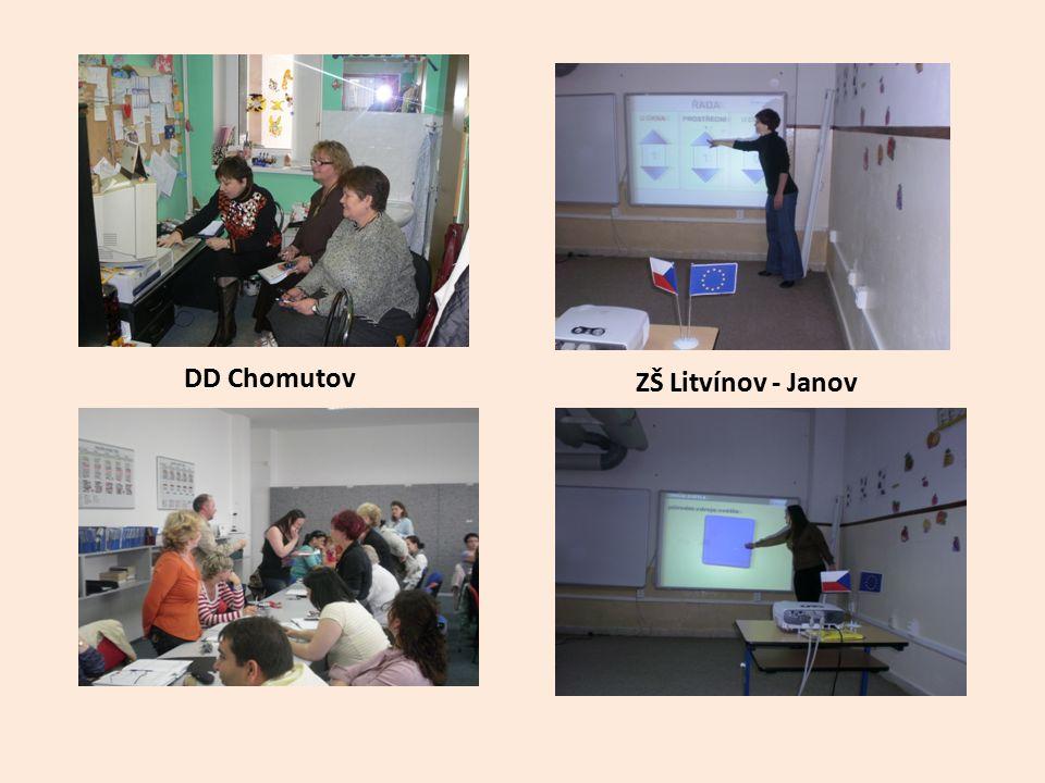 ZŠ Litvínov - Janov DD Chomutov