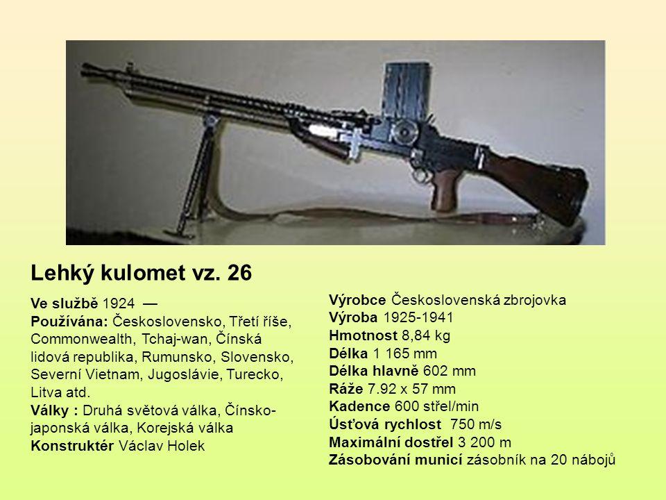 """Samopal vzor 61 přezdívaný """"Škorpion je kompaktní československý samopal používaný v armádě a bezpečnostních složkách od 60."""