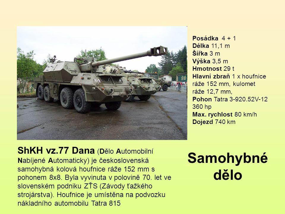 ShM vz.85 PRÁM-S je automaticky nabíjený minomet na prodlouženém podvozku BVP-1.