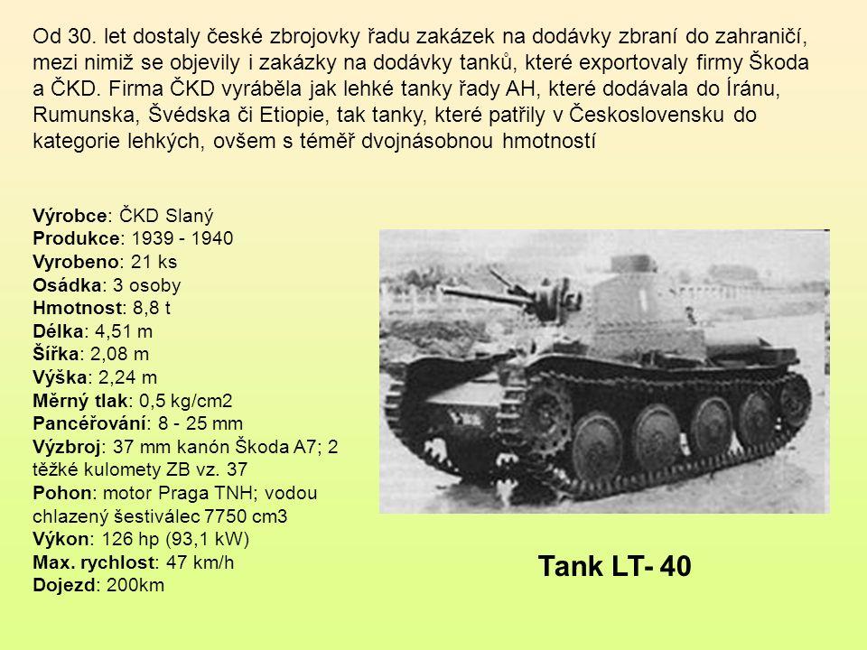 LT-38 (nebo TNHP, německy SdKfz 140 či Pz.Kpfw-38(t)) byl lehký tank československé konstrukce (vyroben společně ČKD a Škodou) převzatý Wehrmachtem po obsazení Československa v roce 1939 a používaný jím během druhé světové války.