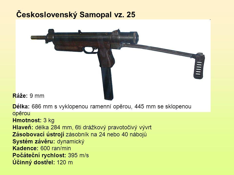 Samonabíjecí puška je ruční, dlouhá, samonabíjecí palná zbraň umožňující střelbu pouze jednotlivými ranami, vybavená zásobníkem na několik nábojů.