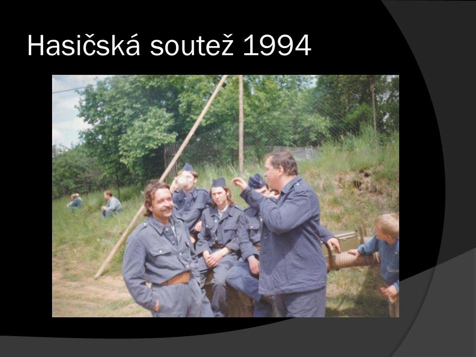 Hasičská soutež 1994
