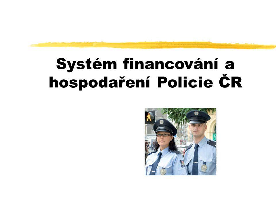 Systém financování a hospodaření Policie ČR