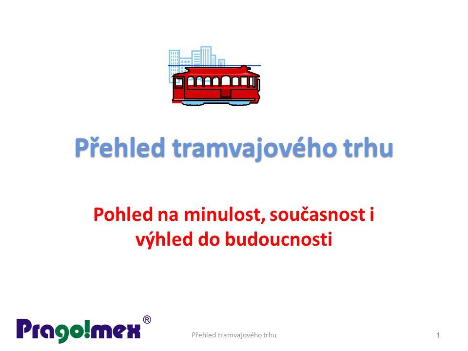 Přehled tramvajového trhu Pohled na minulost, současnost i výhled do budoucnosti Přehled tramvajového trhu1