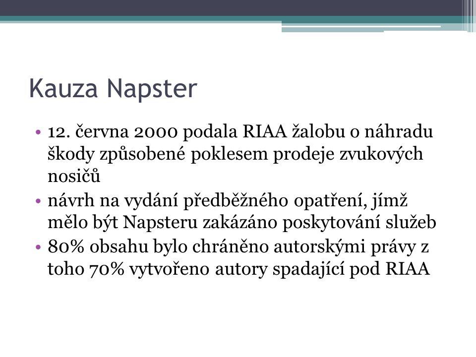Kauza Napster 12.