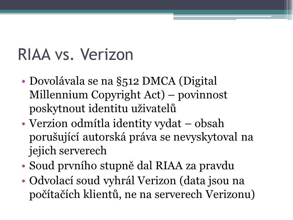 RIAA vs.