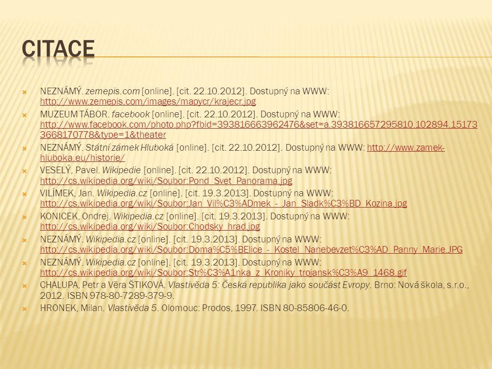  NEZNÁMÝ. zemepis.com [online]. [cit. 22.10.2012].