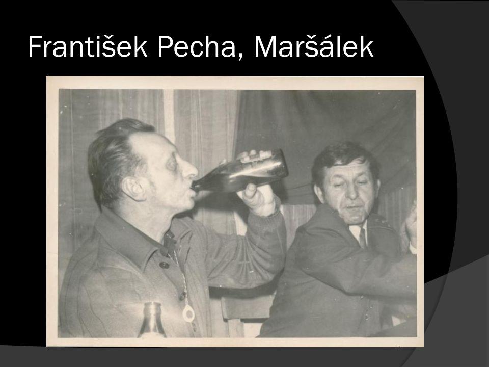 František Pecha, Maršálek