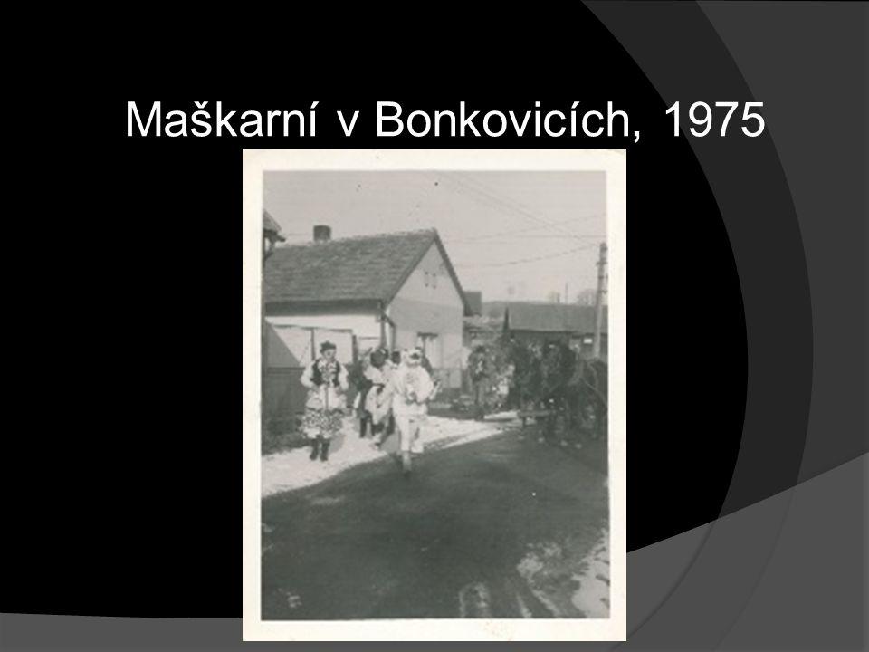 Maškarní v Bonkovicích, 1975