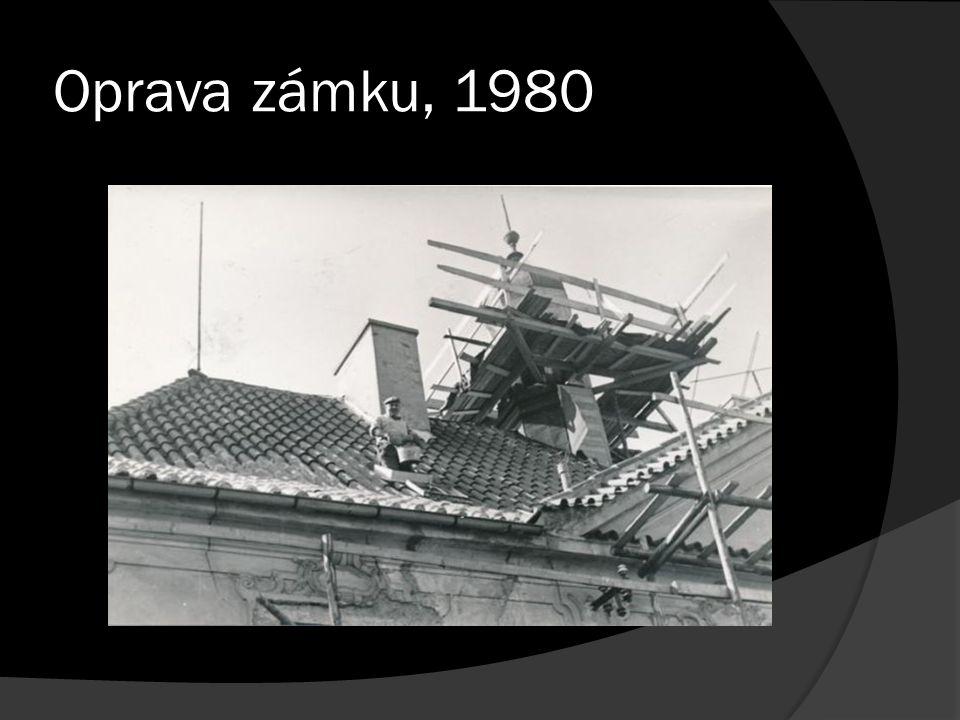 Oprava zámku, 1980