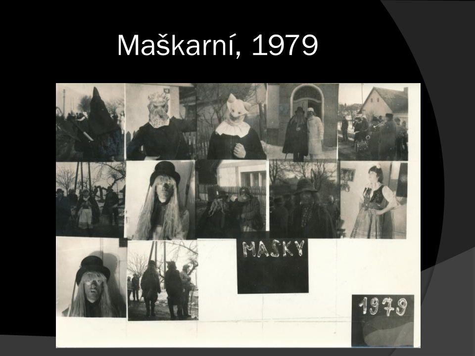 Maškarní, 1979