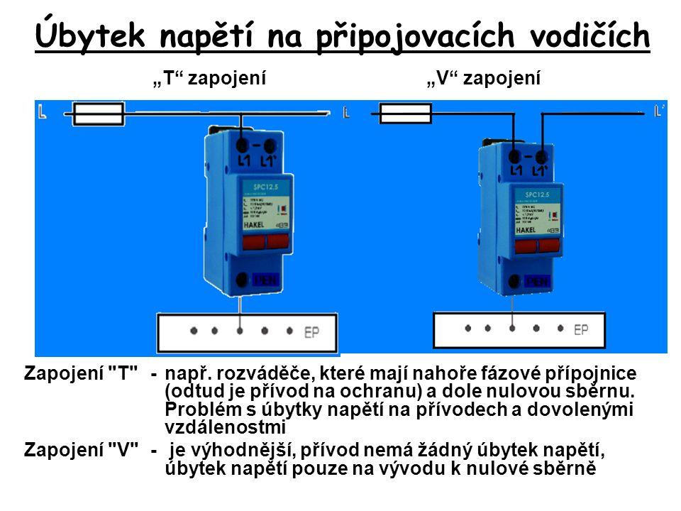 Zapojení T -např.