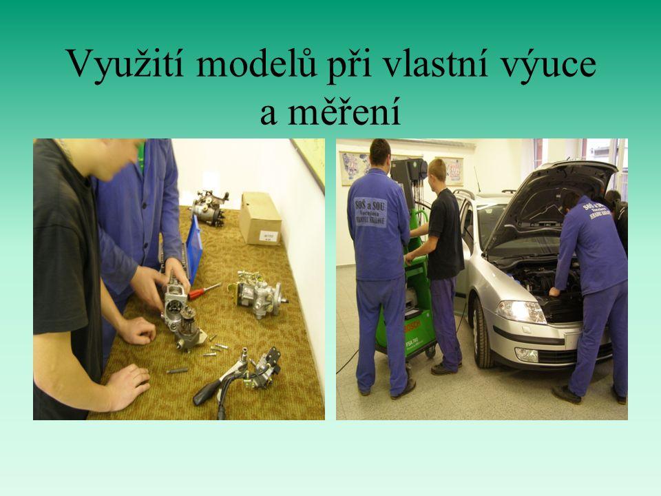 Využití modelů při vlastní výuce a měření