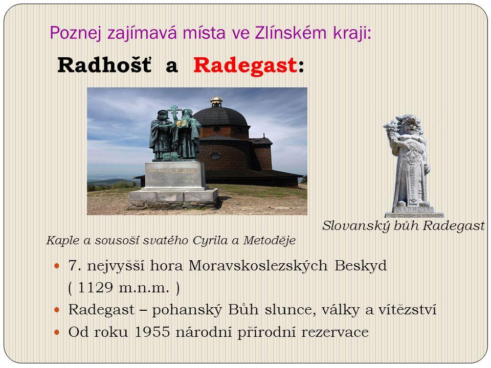 Poznej zajímavá místa ve Zlínském kraji: 7. nejvyšší hora Moravskoslezských Beskyd ( 1129 m.n.m.