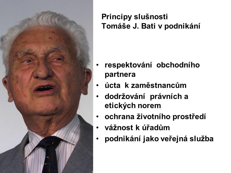 Principy slušnosti Tomáše J.