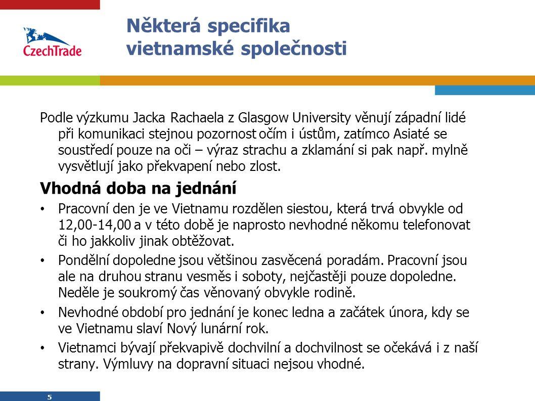 16 Kalendář akcí CzechTrade ve Vietnamu - 2010 1) Veletrh Vietnam Medi-Pharm 12.–15.