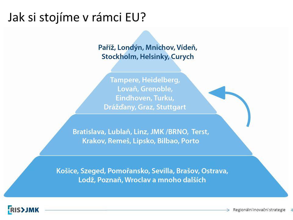Regionální inovační strategie Jak si stojíme v rámci EU 4