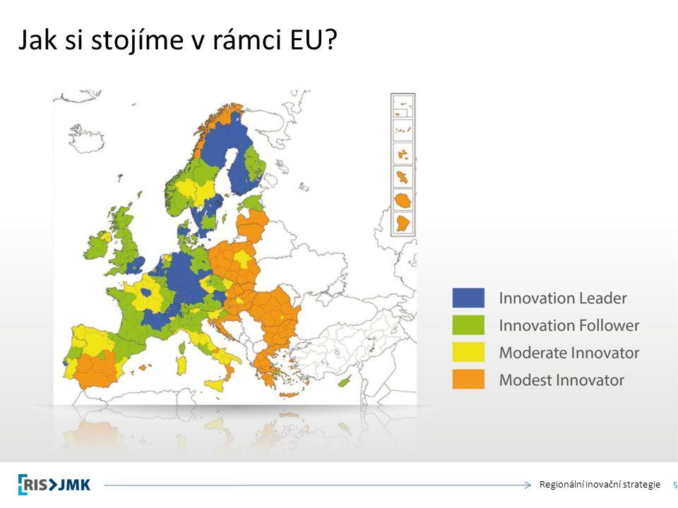 Regionální inovační strategie Jak si stojíme v rámci EU 5