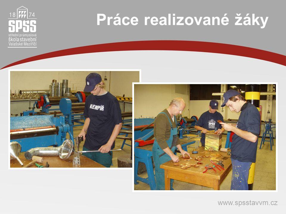 Práce realizované žáky www.spsstavvm.cz
