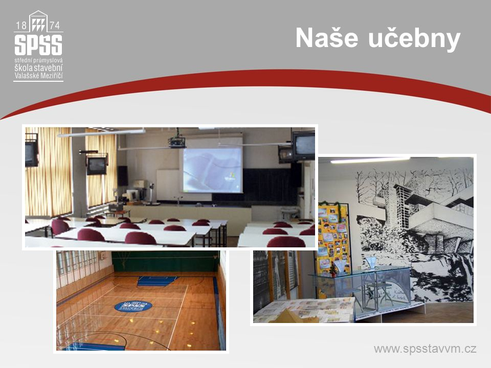Naše učebny www.spsstavvm.cz