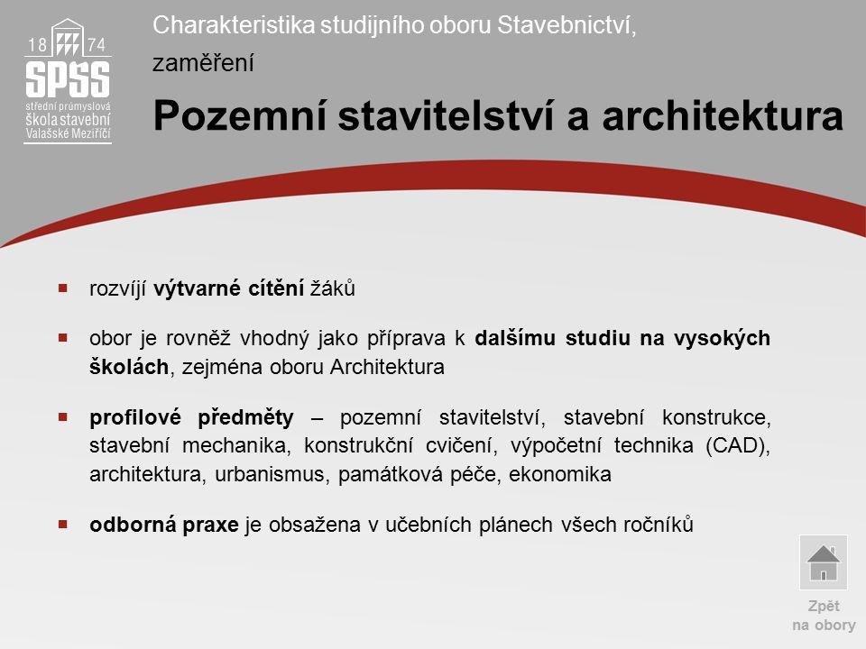 Odborné učebny laboratoř TZB učebna výpočetní techniky www.spsstavvm.cz